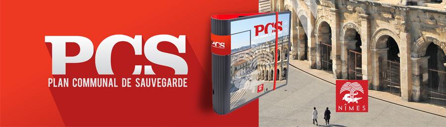 Audit et Refonte graphique du PCS de la ville de Nîmes