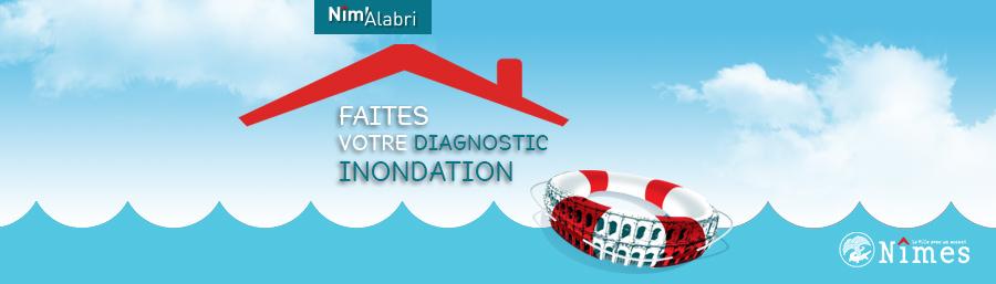 Le dispositif Nîm'alabri : faites votre diagnostic inondation
