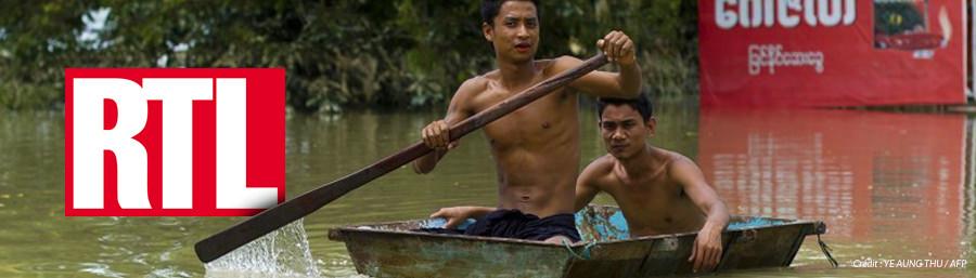 RTL : 1,3 milliard de personnes menacées par les inondations en 2050