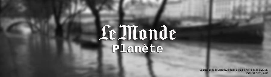 Interview d'Emma Haziza sur le Monde Planète : Crue de la Seine : « Un scénario de crise est hautement probable »