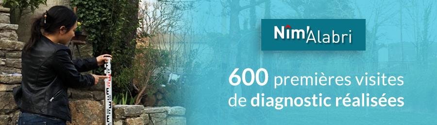 600 premières visites de diagnostic réalisées