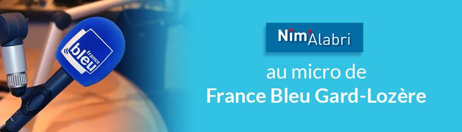 Nîm'Alabri au micro de France Bleu Gard-Lozère