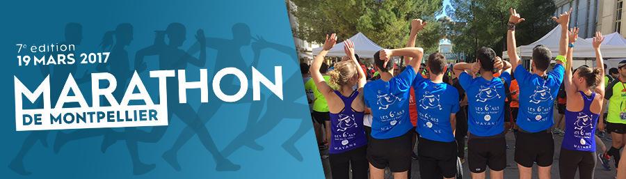 L'équipe de Mayane participe à la 7ème édition du Marathon de Montpellier