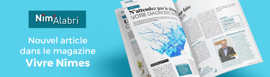 nimalabri diagnotic vulnerabilite inondation ville nimes mayane gratuit presse magazine vivre nimes 141