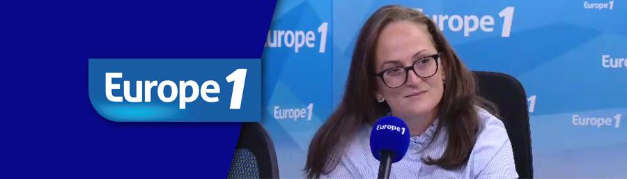 """Europe 1 : Emma Haziza : """"Nous sommes prêts seulement par endroits"""" à gérer d'importantes inondations"""