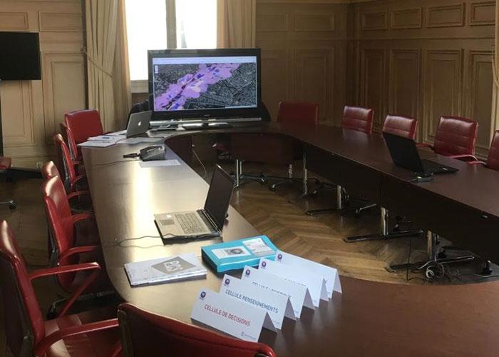 © Participation à l'exercice européen EU SEQUANA en Ile-de-France
