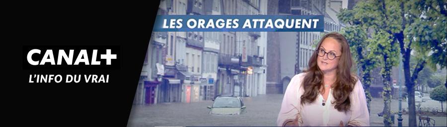 Emma Haziza, invitée de Canal+ – « Les orages attaquent »