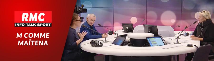 RMC – Débat sur l'adaptation aux changements climatiques avec Emma Haziza & Jean Jouzel