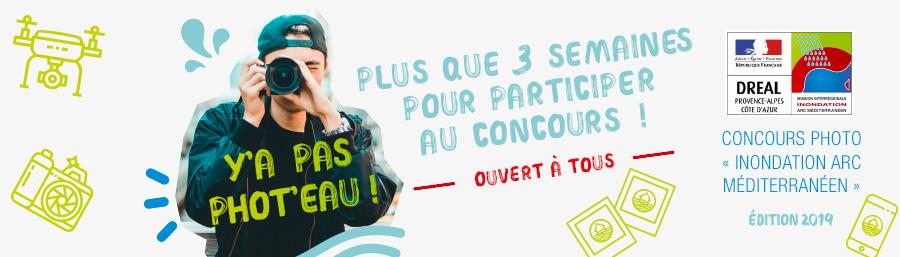 Plus que trois semaines pour participer au concours Y'A PAS PHOT'EAU et tenter de gagner de nombreux lots !