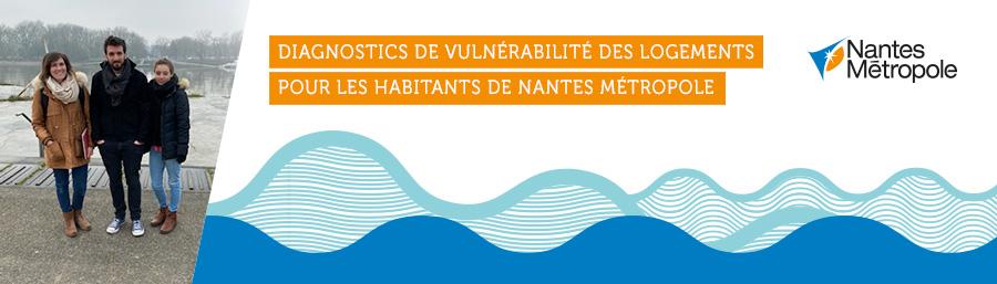 Diagnostics de vulnérabilité des logements pour les habitants de Nantes Métropole