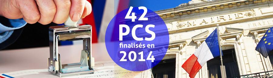 42 PCS finalisés au premier semestre 2014