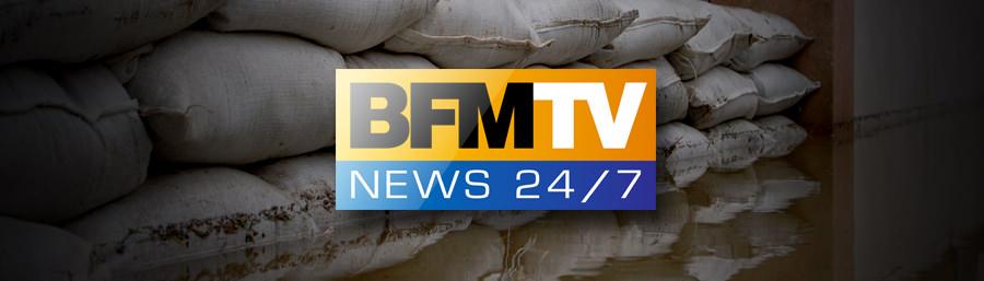 Interview d'Emma Haziza journal du 18/09/2014 BFMTV – Mayane – Inondations Sud de la France