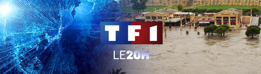Emma Haziza au 20h de TF1 – 30/09/14