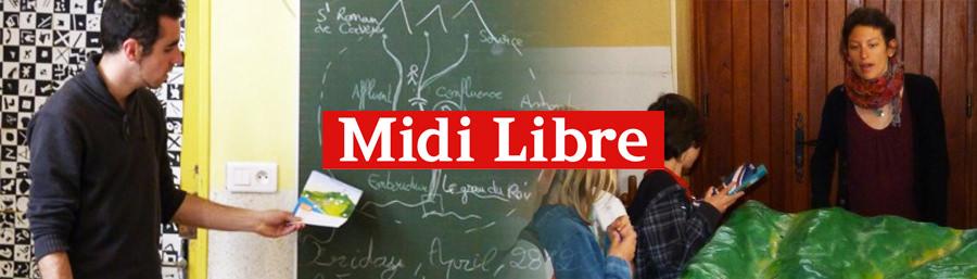 """Mayane dans le Midi Libre: """"Savignargues: attention aux vidourlades!"""""""