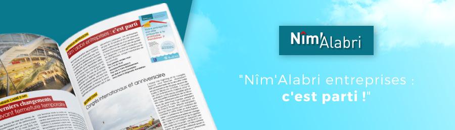 """Vivre Nîmes N°146 : """"Nîm'Alabri entreprises: c'est parti !"""""""