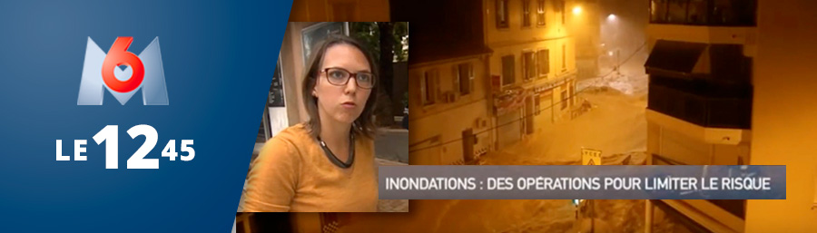 """M6 – """"Inondations : des opérations pour limiter le risque"""""""