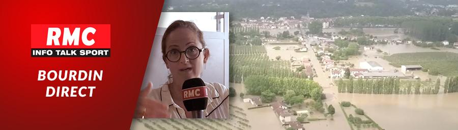 """Interview d'Emma Haziza par RMC – Intempéries: """"Le sol est saturé en eau"""""""