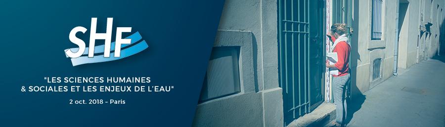 Poster pour le colloque de la Société Hydrotechnique de France