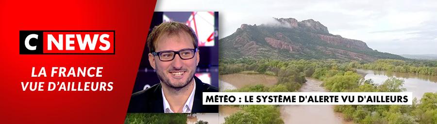 """C News – """"Météo : le système d'alerte vue d'ailleurs"""""""