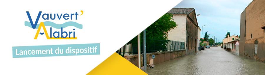 Diagnostic inondation : lancement du dispositif Vauvert'Alabri